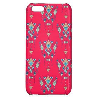 Vintage ethnic tribal aztec ornament iPhone 5C cases
