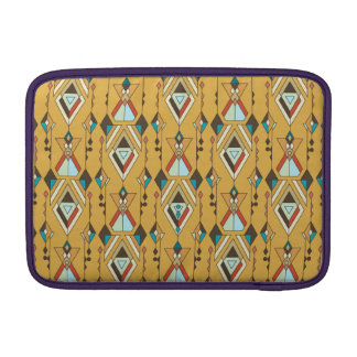 Vintage ethnic tribal aztec ornament MacBook air sleeves
