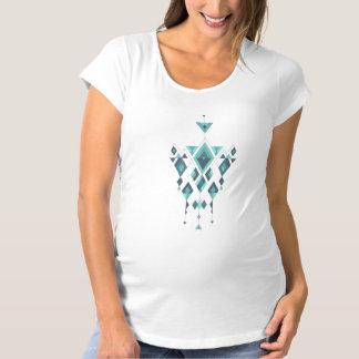 Vintage ethnic tribal aztec ornament maternity T-Shirt