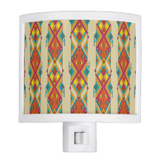 Vintage ethnic tribal aztec ornament nite lights