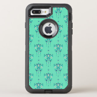 Vintage ethnic tribal aztec ornament OtterBox defender iPhone 8 plus/7 plus case