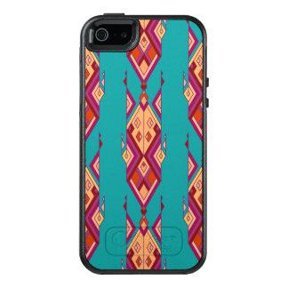 Vintage ethnic tribal aztec ornament OtterBox iPhone 5/5s/SE case