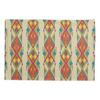Vintage ethnic tribal aztec ornament pillowcase