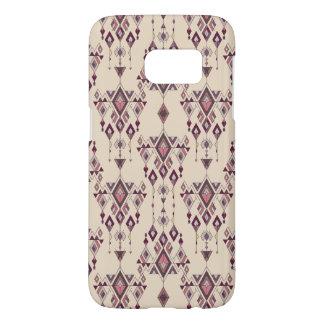 Vintage ethnic tribal aztec ornament samsung galaxy s7 case