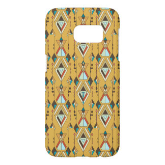 Vintage ethnic tribal aztec ornament samsung galaxy s7 case