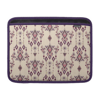 Vintage ethnic tribal aztec ornament sleeve for MacBook air
