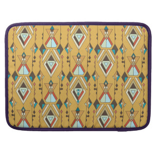 Vintage ethnic tribal aztec ornament sleeve for MacBooks