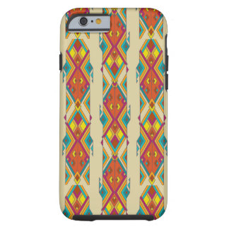 Vintage ethnic tribal aztec ornament tough iPhone 6 case