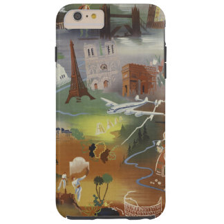 Vintage Europe Travel Ad iPhone 6/6s Plus Case