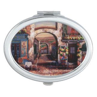 Vintage European Cafe Mirror For Makeup