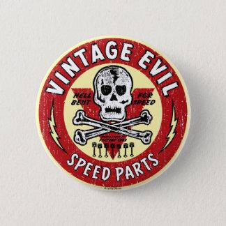Vintage Evil nose art 001 2 Inch Round Button