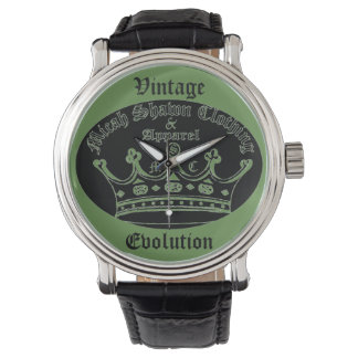 Vintage Evolution Watch (Original Crown Logo)