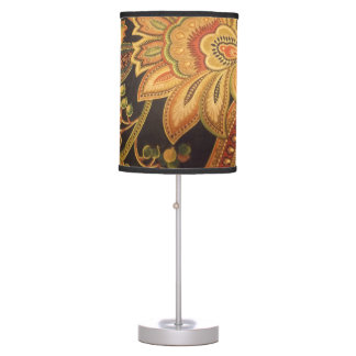 Vintage Exotic Table Lamp