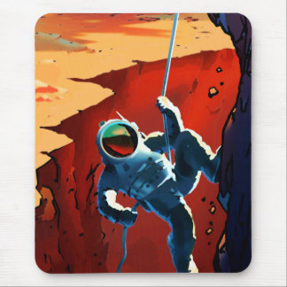"""Vintage """"Explorers Wanted"""" Mars Recruitment Mouse Pad"""