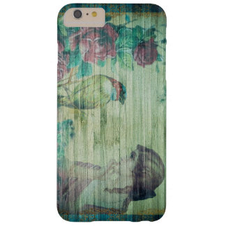 Vintage Exquisite Shabby Chic Lady and Bird Floral Barely There iPhone 6 Plus Case