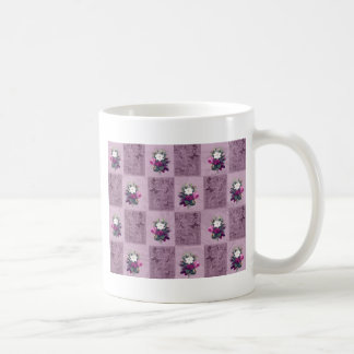 Vintage fabric coffee mug