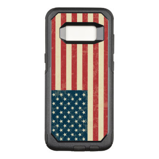 Vintage Faded American Flag USA OtterBox Commuter Samsung Galaxy S8 Case