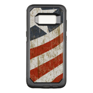 Vintage Faded American OtterBox Commuter Samsung Galaxy S8 Case