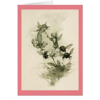 Vintage Fairies Card