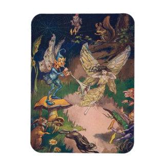 Vintage - Fairies & Elves in a Night Garden, Magnet