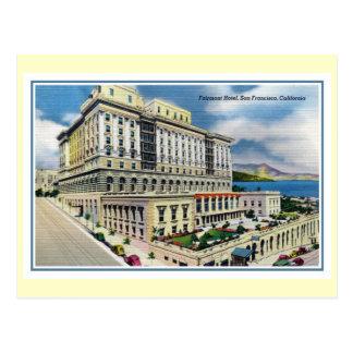 Vintage Fairmont Hotel San Francisco CA Postcard