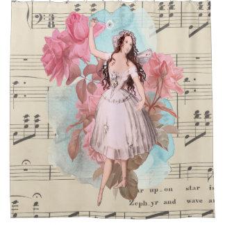 Vintage Fairy Ballerina Dancing Music