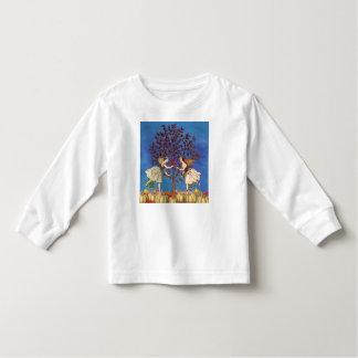 Vintage Fairy Dancing Friends Pumpkin Patch Toddler T-shirt