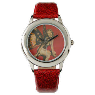 Vintage Fairy Pin-up Watch