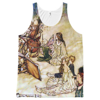 Vintage Fairy Song for Shakespeare All-Over-Print Tank Top