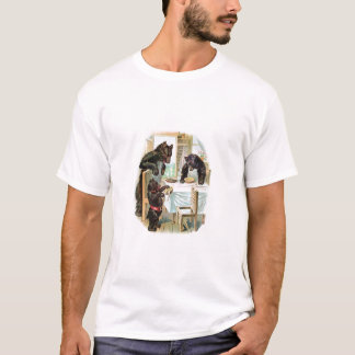 Vintage Fairy Tale Classic 3 Bears Toddler T T-Shirt