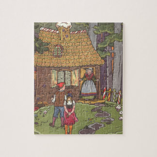 Vintage Fairy Tale, Hansel and Gretel by Hauman Jigsaw Puzzle