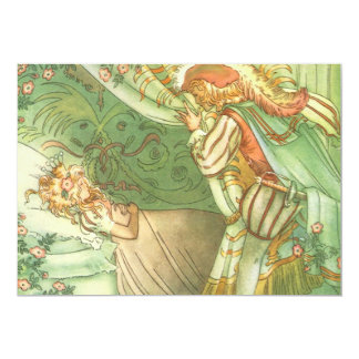 Vintage Fairy Tale, Sleeping Beauty Invitation