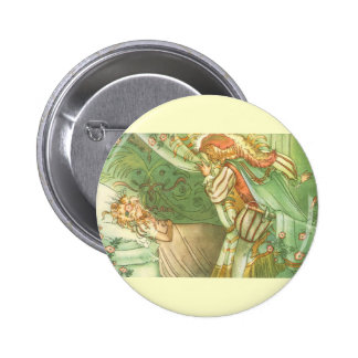 Vintage Fairy Tale, Sleeping Beauty Princess 2 Inch Round Button