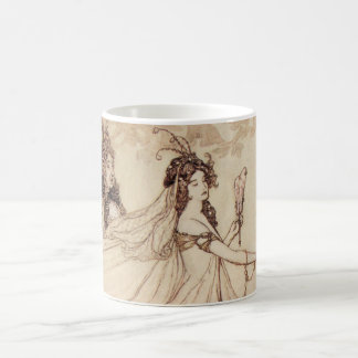 Vintage Fairy Tales, Cinderella by Arthur Rackham Coffee Mug