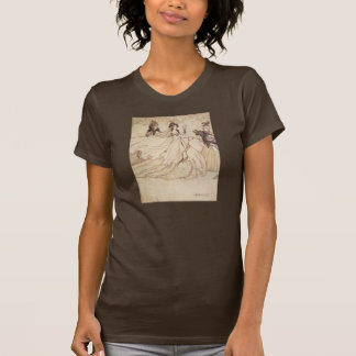 Vintage Fairy Tales, Cinderella by Arthur Rackham T-Shirt