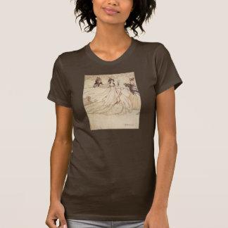 Vintage Fairy Tales, Cinderella by Arthur Rackham Tee Shirts