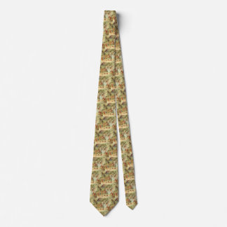 Vintage Fairy Tales, Thumbelina and Prince Wedding Tie