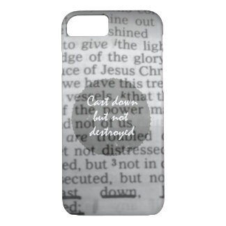 Vintage Faith: Bible Verse iPhone 7 Case