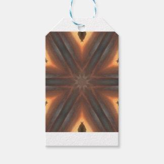 vintage fall handkerchief pattern gift tags