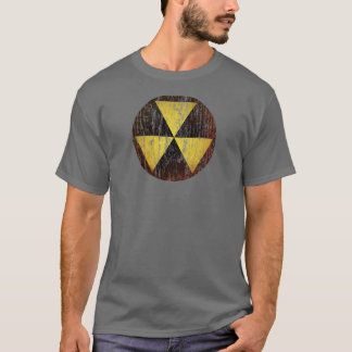 Vintage Fallout Shelter Symbol T-Shirt