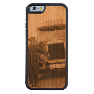 Vintage Falmouth wood phone case