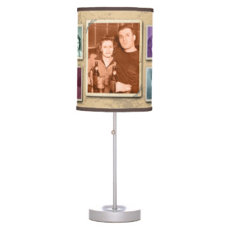 Vintage Family Photo Custom Lamp Shade