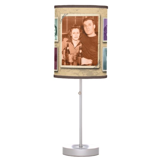 Vintage Family Photo Custom Lamp Shade