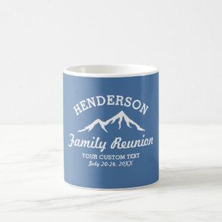 Vintage Family Reunion Trip Cool Mountain Peaks Coffee Mug