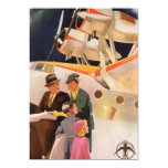Vintage Family Vacation Via Seaplane w Propellers