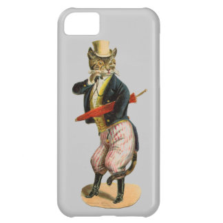 Vintage Fancy Cat with Monacle iPhone 5C Cover