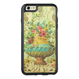 Vintage Fancy Vase with Rose Flowers OtterBox iPhone 6/6s Plus Case