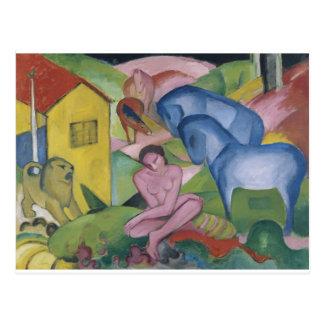 Vintage Fantasy  Painting Entitled 'The Dream' Postcard