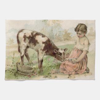 Vintage Farm Kitchen Towel