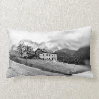 Vintage Farmhouse Scene Decorative Pillow
